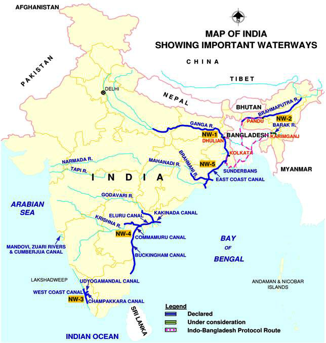 National Inland Waterways and Canals