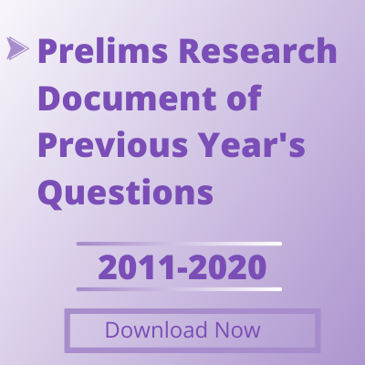 Prelims Research Document of Previous Year's Questions