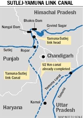 Sutlej Yamuna Canal