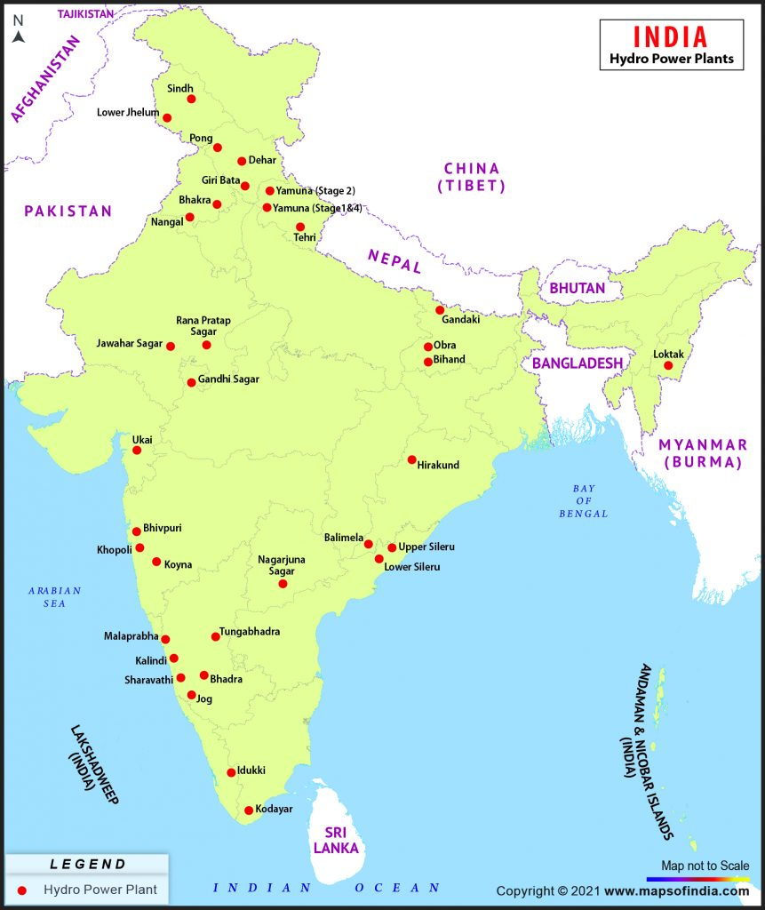 Hydroelectric Power Plants in India