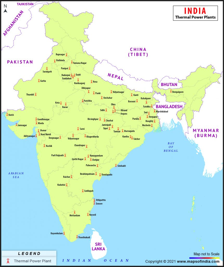 major thermal power plants in india